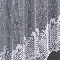 Firanka gotowa żakardowa 003840 - 160x300 cm - biała