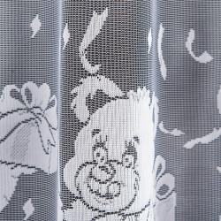Firanka gotowa żakardowa 003835 - 160x300 cm - biała