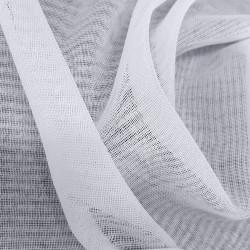 """Firanka szyta z markizety """"Hermina"""" - 160x400 cm - biała"""