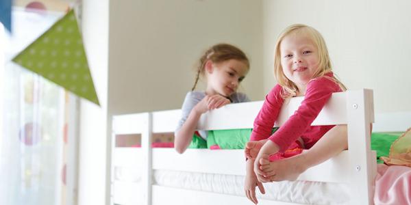Jak udekorować łóżko piętrowe dla dzieci?