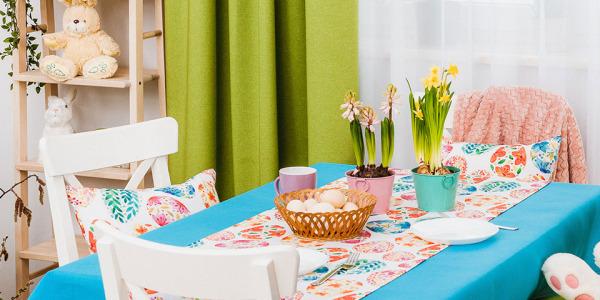 Wiosna za stołem i na… stole