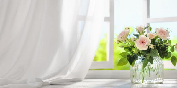 Historia dekoracji okna
