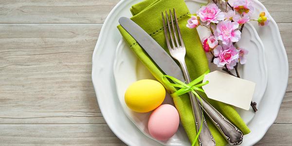 Wielkanocne dekoracje stołu